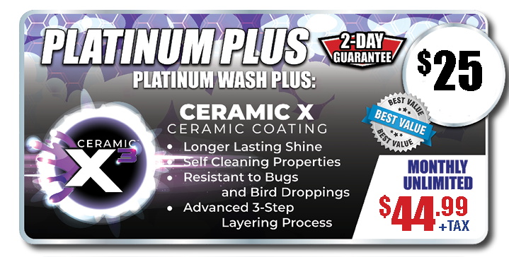 PlatinumPlus Wash Package