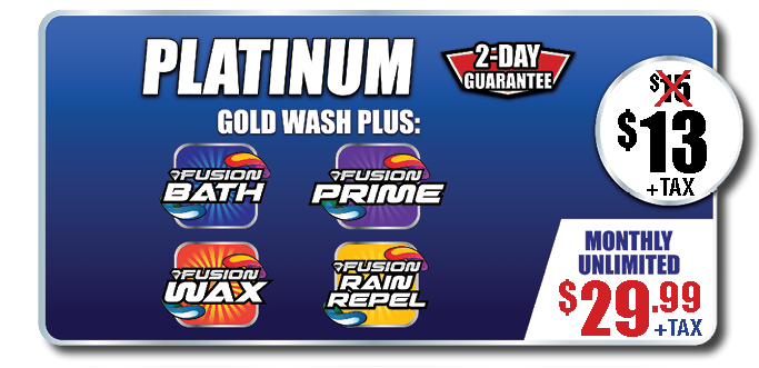 PlatinumGold Wash Package
