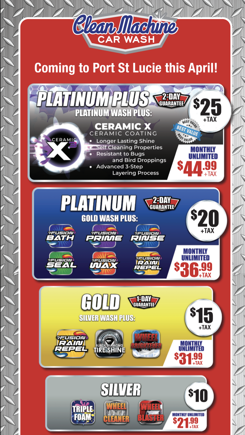 Express Wash Package